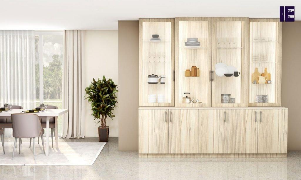 White Fleetwood display cupboard