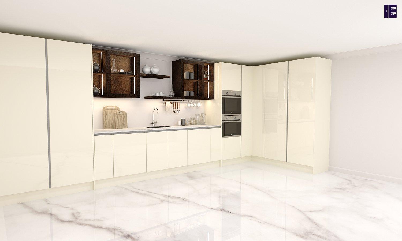Cream Maya Bronze Penelope Kitchen