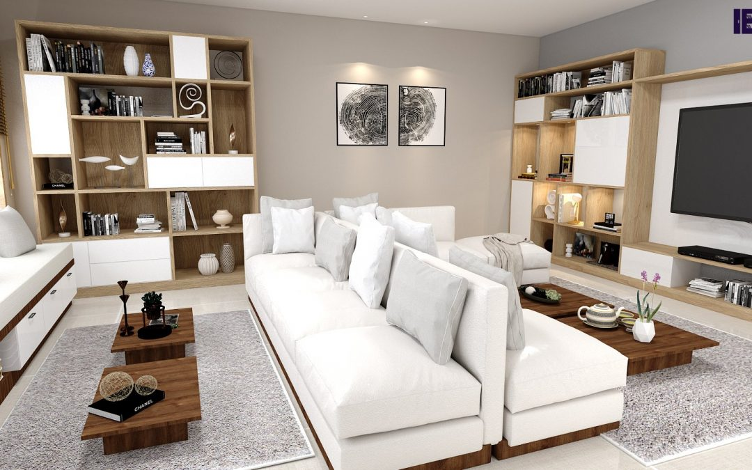 Custom-made Finishes For Your Living Room