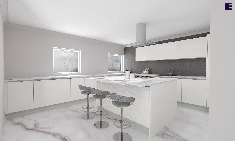 Peninsula Small Kitchen